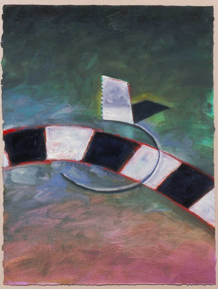 "Reconstruction of the Universe Game painting: ""Obstacle 6"""