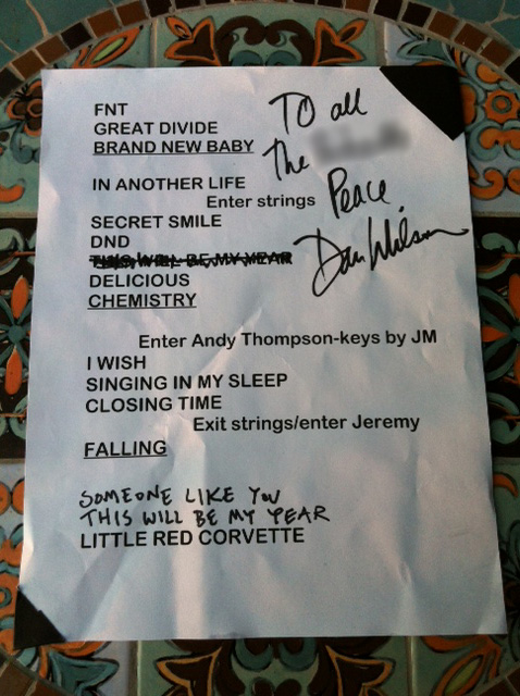 Set List from Friday's Semisonic MN State Fair Show
