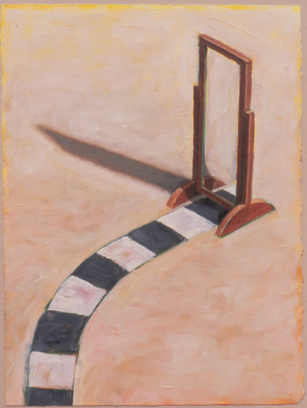 "DW painting – ""Obstacle 1"""