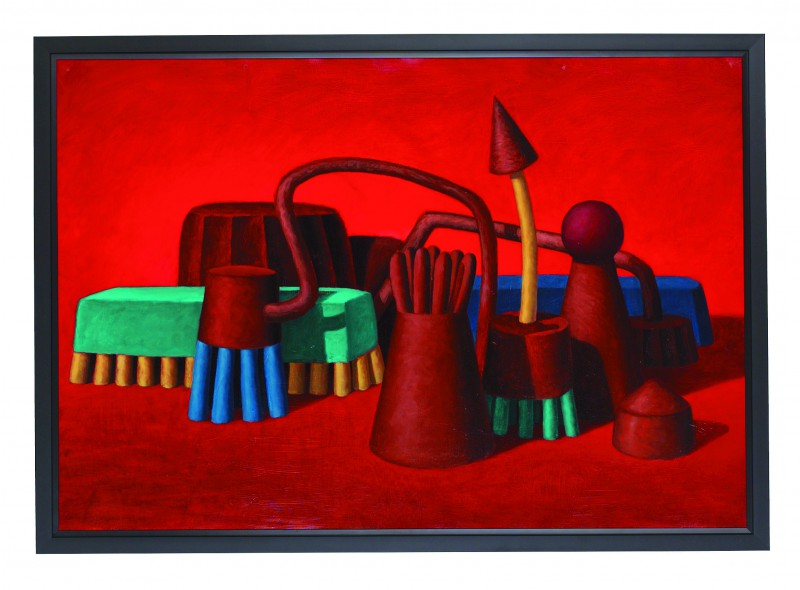 """""""Cotopaxi"""", DW painting from 1991"""