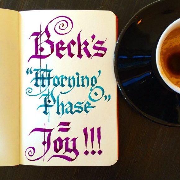 "Beck's ""Morning Phase"" = Joy"