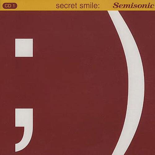 Secret Smile CD1 (UK Single)