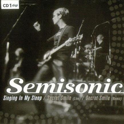 Singing In My Sleep CD1 (UK Single)