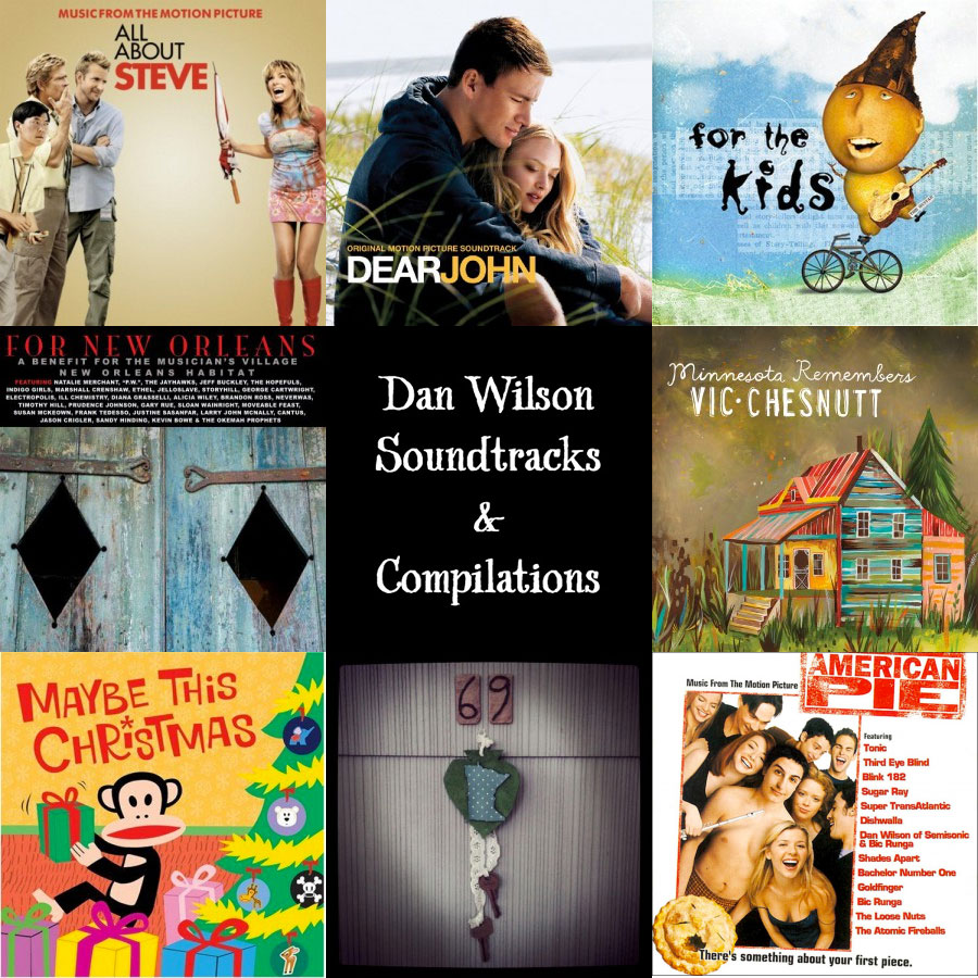 Dan Wilson Soundtracks and Compilation Albums