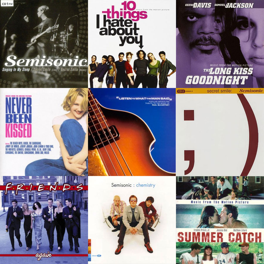 Semisonic Soundtrack and Compilation Albums